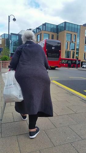 Bbw big butt granny