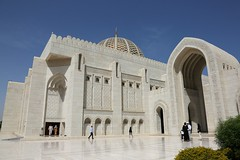 De Grote Sultan Qaboos-moskee (Iam Marjon Bleeker) Tags: verenigdearabischeemiraten oman bashar moskee mosque grotesultanqaboesmoskee 2017 dag4md0c3551g
