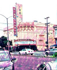 Alexandria Theater, Geary Boulevard, San Francisco (sftrajan) Tags: alexandriatheater gearyboulevard sanfrancisco architecture california