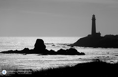 Pigeon Point Lighthouse (HANSKOKXphotography) Tags: california pigeonpointlighthouse ocean water pigeonpoint blackandwhite coast pacific lighthouse pescadero unitedstates us carmel highway1 carmelca carmelbythesea highwayone