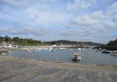 The Cob at Lyme Regis (kateiles1) Tags: harbourside harbours southwest southcoast fishingboat fishing sailing england cob dorset lyme sea boats nautical coastal harbour seaside