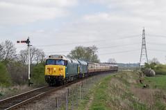 50008 & 45041 - Wansford, NVR - 07.04.2017 (Tom Watson 70013) Tags: nvr nene valley railway diesel gala wansford 45041 50008 thunderer royal tank regiment class45 class50