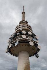 The Telstra Telecom Tower, Canberra, ACT. (Sir Buddy Patrick) Tags: telstra telecom telecommunication tower radio broadcast signal landmark icon history historic heritage canberra australiancapitalterritory australia