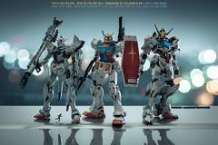 Gundam (I AM LESLIE) Tags: sony zeiss 135mm czaposonnart2135 gundam gunpla gundambarbatos gundamrx78 gundamf91 f91 metalbuild hires bandai toy bokeh 7rm2 antman hottoys