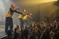 Amsterdam, The Netherlands  -16 April 2017: concert of Bosnian rock music band Dubioza Kolektiv at venue Melkweg -29 (CloudMineAmsterdam) Tags: dubiozakolektivmelkwegamsterdam amsterdam artists band concert concertlights crowd editorial electricguitar entertainment europe event gathering rock dub leisure lights loud music musician netherlands holland party people performance show singer vocals cheering audience happysmile fun hiphopreggae stage