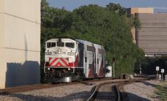 Evening Rush in Dallas (GLC 392) Tags: emd f59ph f59 got go transit tre trinity railway express 120 trwx evening rush commuter dallas tx texas passenger train railroad