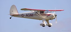 Luscombe 8E Silvaire Deluxe G-AGMI Lee on Solent Airfield 2017 (SupaSmokey) Tags: luscombe 8e silvaire deluxe gagmi lee solent airfield 2017