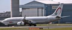 Royal Air Maroc (50th 737) 738 CN RGN arriving at Manchester from Casablanca (judiballard) Tags: royalairmaroc 737 738 casablanca manchesterairport