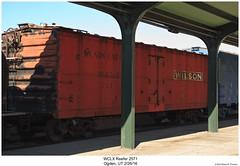 WCLX Reefer 2571 (Robert W. Thomson) Tags: wclx wilsoncarlines wilsoncompany reefer refrigirated refrigiratedboxcar rollingstock railcar traincar train trains railroad railway ogden utah