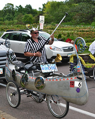 2015 Art Car Parade (schwerdf) Tags: artcarparade bicycles costumes lakeharriet minneapolis minneapolisartcarparade minnesota unitedstates vikebike