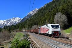 "EU 43 006 ""RTC"" Gossensass (Matthias Greinwald) Tags: eu 43 006 rtc rail traction company gossensass bren brenner bre brennero güterzug zug zebra lokomotion lomo"