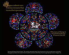 Easter greeting 2017 (Lawrence OP) Tags: agnusdei easter 2017 stainedglass window episcopal church arlington stgeorges
