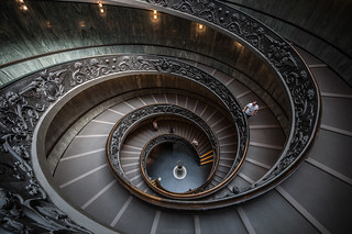 Escalier de Bramante, Vatican