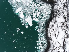 ICE (Chris Herzog) Tags: ifttt 500px landscape nature coast pattern aerial snow colors shore ice floating glacier lagoon discover black sand drone natural bird view iceland icelandic