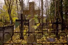 Crosses (Tanel Teemusk) Tags: autumn fall graveyard night photography tallinn estonia cross tomb tombstone christian christianity protestant lutherian surnuaed südalinna