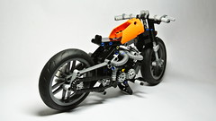 Lego Technic Hardtail Chopper (hajdekr) Tags: wheel chopper lego wheels motorcycles motorbike technic moto motorcycle moc legotechnic myowncreation vengine legotoyline