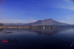 I love the blue... (Island Golf Trip) Tags: lake lakebatur batur kintamani mtbatur