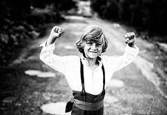 9 yo ! (NCazard) Tags: portrait bw canon children blackwhite child noiretblanc bokeh sigma nb canon6d sigma35mm14art
