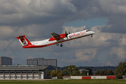 Air Berlin (LGW) De Havilland Canada DHC-8-402Q D-ABQJ