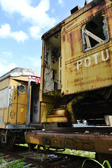 Potus Train (DayanaGomezPhotography) Tags: abandoned train wagon tren photography nikon florida miami decay forgotten abandonne abandonado vergessen verlassene destrcution dayanagomez