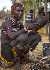 Bashada Tribe Woman Crying During A Bull Jumping Ceremony, Dimeka, Omo Valley, Ethiopia (Eric Lafforgue) Tags: africa people haircut female hair outside outdoors necklace pain community colorful iron day adult outdoor african crying ceremony drinking culture jewelry celebration ornament bracelet blackpeople omovalley braids ethiopia pastoral ethnic hairstyle anthropology hamar oneperson developingcountry braid hamer braided hammar hornofafrica ethnology ethiopian omo eastafrica animalskin 2025years onewomanonly fulllenght colorpicture africanethnicity pastoralist indigenousculture pastoralism africanculture onlywomen bullleaping bashada bulljumping colourpicture omorivervalley hairness oneadultonly hamerbenaworeda ethiopianethnicity hamerbena ethio1402798