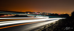 Light Intersection (Tim van Zundert) Tags: road light sky west car night downs sussex evening worthing brighton long exposure motorway sony south overpass trail pollution slip bypass shoreham a7r sel2470z
