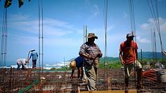 Jungle Construction (Sailor Alex) Tags: building mexico workers construction maestro troncones guerrero mexicanworkers
