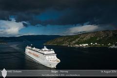 MSC Orchestra (Aviation & Maritime) Tags: cruise norway cruiseship bergen msc msccruises msccrociere mscorchestra