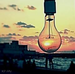 From behind... (WD EL 7AJ) Tags: light sunset sun art beach alexandria egypt behind sudanese