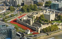 A sea of red.... (stavioni) Tags: world red london tower war view royal first palace poppy british shard
