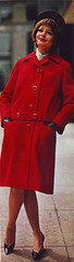 Sears 64 fw red coat (jsbuttons) Tags: winter red fall clothing 60s buttons sears coat womens 64 catalog sixties 1964 vintagefashion