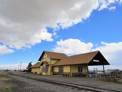 Station at Antonito (Patricia Henschen) Tags: railroad yard train scenic steam sanluisvalley depot railyard narrowgauge railroadstation drg cumbrestoltec drgw conejoscounty denverriograndewestern antonitocolorado