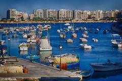 010138 - Malta (M.Peinado) Tags: hdr mar marmediterráneo malta islademalta 01092014 septiembrede2014 2014 canoneos60d canon puerto barco barcos ccby