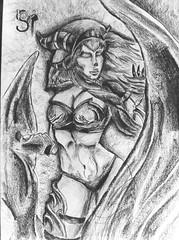 #Alexstasza #warcraft #blackpencil #blizzard #artwork #draw #sketchbook (bsarpi) Tags: artwork sketchbook warcraft draw blizzard blackpencil alexstasza
