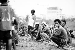 27 (Garry Andrew Lotulung) Tags: street portrait bw monochrome canon children indonesia cow blackwhite child muslim islam religion goat oldman human kambing adha humaninterest sapi tangerang idul eidmubarak iduladha canon7d