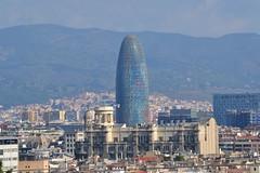 TORRE GLÒRIES (abans TORRE AGBAR) (Yeagov_Cat) Tags: barcelona catalunya torreagbar torre agbar avingudadiagonal 2005 b270 diagonal jeannouvel torreglòries glòries