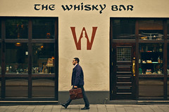 The Whisky Bar (Bunaro) Tags: street oslo norway bar norge whiskey whisky scotch norje