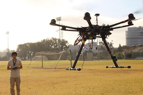 Hexacopter Testing