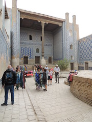 DSCN5332 (bentchristensen14) Tags: people uzbekistan khiva ichonqala allahkulikhanmadrassa