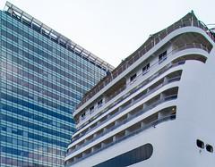 _DSC7282 (durr-architect) Tags: sky eye water amsterdam architecture boats ships banks ij muziekcentrum
