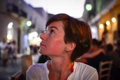 Mirck - Look Up! (imNOTaPh) Tags: portrait italy girl lady 35mm nikon sicily trapani favignana mirck