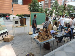 PARK(ing) Day in Uptown Charlotte