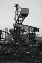 Scrapping (larry_antwerp) Tags: haven port belgium terminal antwerp abt scrapmetal bulk delwaidedok