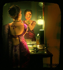 7 (Rupesh Talaskar) Tags: beauty illustration women backless tamasha lavani