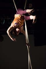 Tangle performs Break/Drift/Resist. Photo by Anne Saint Peter.