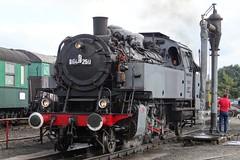 CFV3V Steamlocomotive N 64 250 in Mariembourg. (Franky De Witte - Ferroequinologist) Tags: de eisenbahn railway estrada chemin fer spoorwegen ferrocarril ferro ferrovia