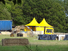 Little Tents (Mr Cheerful) Tags: scientology cult anonymous ias eastgrinstead sthill ias2014