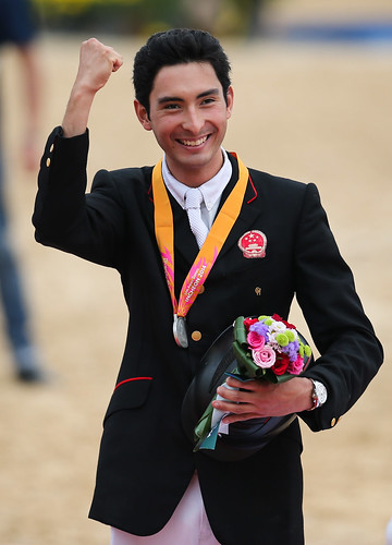 Asian Games 2014  Medal Ceremony Photo Xinhua Zhang Fan