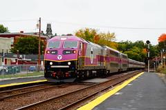 MBTA (Littlerailroader) Tags: railroad train massachusetts newengland trains transportation locomotive mbta trainspotting locomotives railroads ayer ayermassachusetts