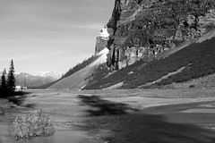Late Afternoon (JB by the Sea) Tags: blackandwhite bw canada rockies alberta banff rockymountains lakelouise banffnationalpark canadianrockies chateaulakelouise fairmontchateaulakelouise september2014